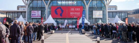 foire de lyon 2019 - visitors entrance web